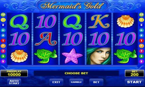 mermaids gold screenshot