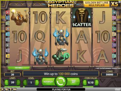 egyptian heroes screenshot