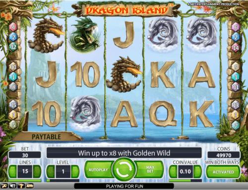 dragon island screenshot