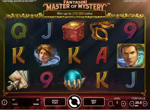 fantasini master of mystery screenshot