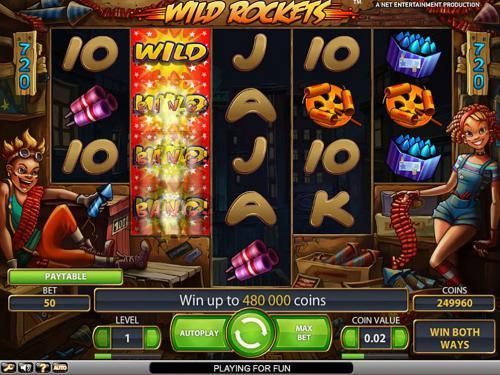wild rockets screenshot