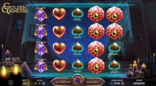 golden grimoire screenshot