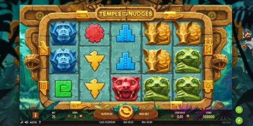 temple of nudges screenshot netent