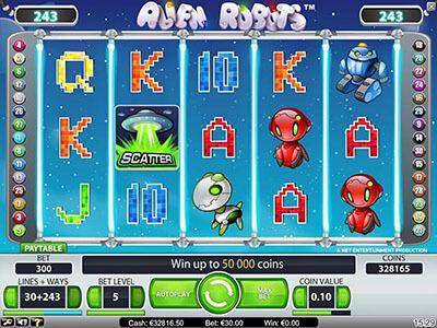 Alien Robots screenshot
