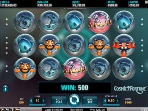 cosmic fortune screenshot