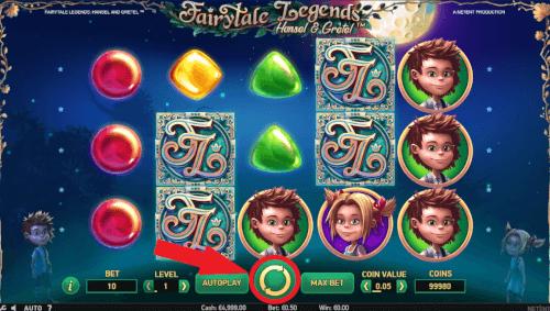 fairytale legends spinnen