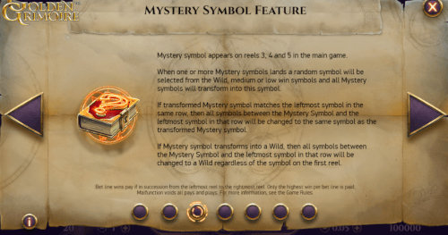 mystery symbool