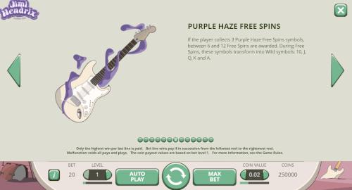purple haze feature