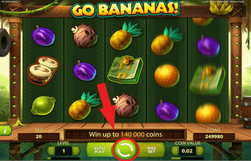 spinnen bananas