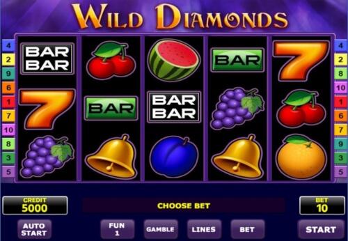 wild diamonds gokkast