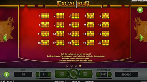 winlijnen excalibur