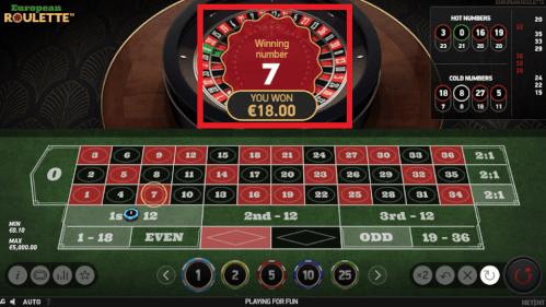 18 euro winnen