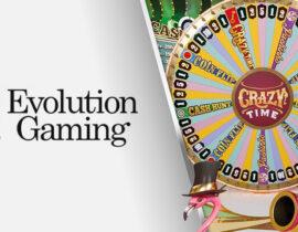 Evolution Gaming lanceert de game show: Crazy Time