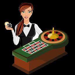 live dealer spel graphic