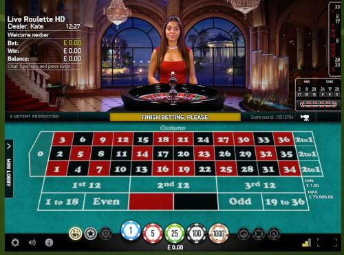 live roulette online spelen