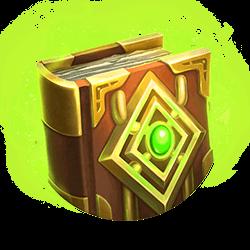 magisch book symbool