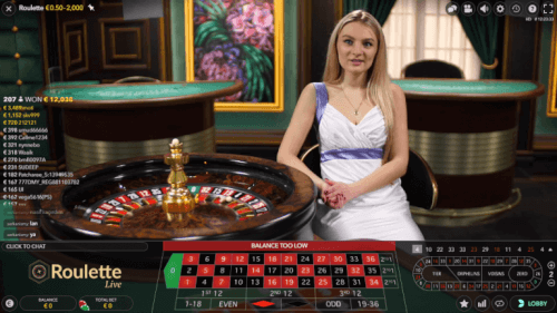 strategie bij live roulette