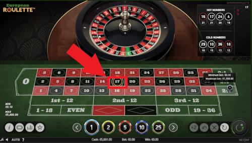 verlies roulette