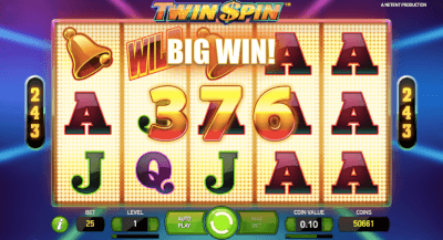 Big Win Met een Twin Spin