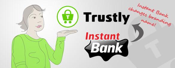 Instant Bank naar Trustly