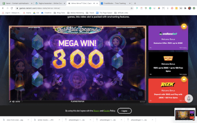 Mega Win na Fairy Magic Spin
