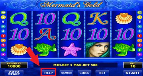 help mermaids slot