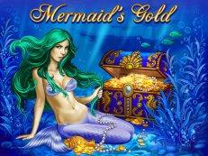 mermaid met schatkist