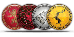 symbolen stark en lannister