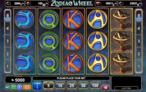 symbolen zodiac op spel