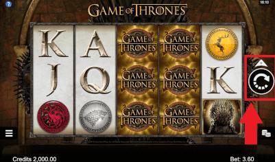 thrones draai knop