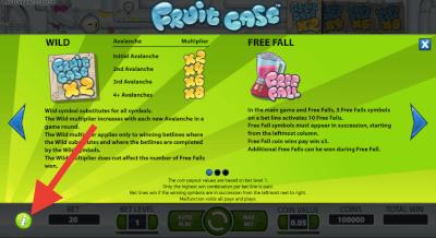 Spelinformatie Fruit Case