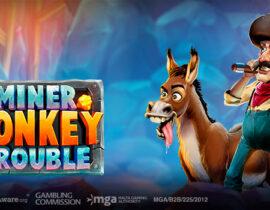 Play 'n Go brengt de Miner Donkey Trouble gokkast uit