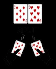Blackjack handelingen