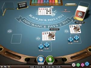 Blackjack laag limiet tafels