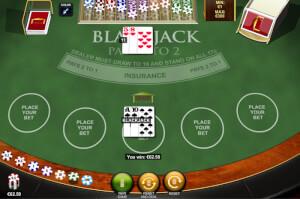 Blackjack winnen