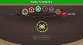 Infinite Blackjack geld inzetten