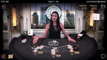 Perfect Blackjack side bet