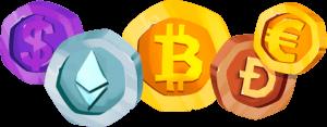 Spelen met bitcoins
