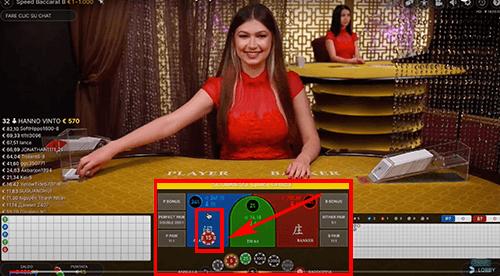 Live casino inzet fiches