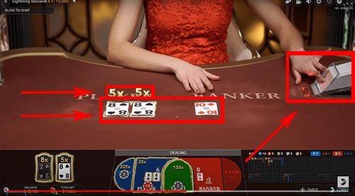 Live casino kaarten dealer
