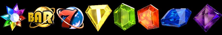 Netent starburst symbolen