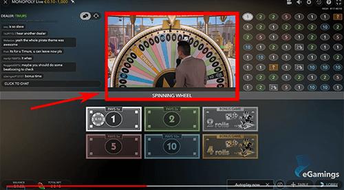 Online evolution gaming casino