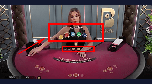 Perfect blackjack inzet