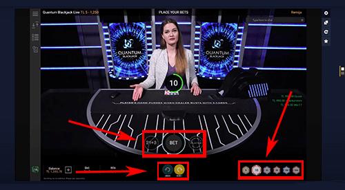 Quantum Blackjack spelen