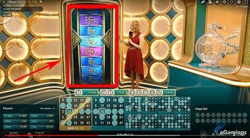 live casino multiplier