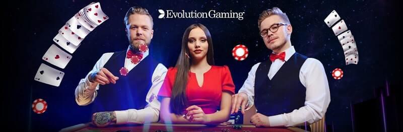 Evolution gaming live