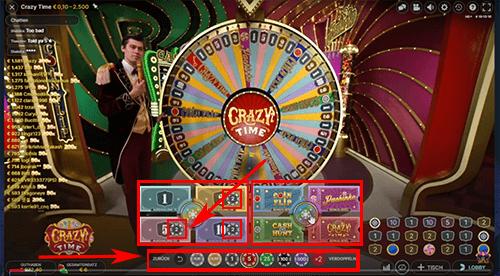 Geld inzetten spelshow