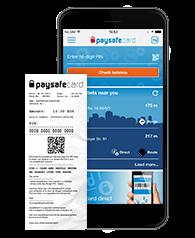 Paysafe card app