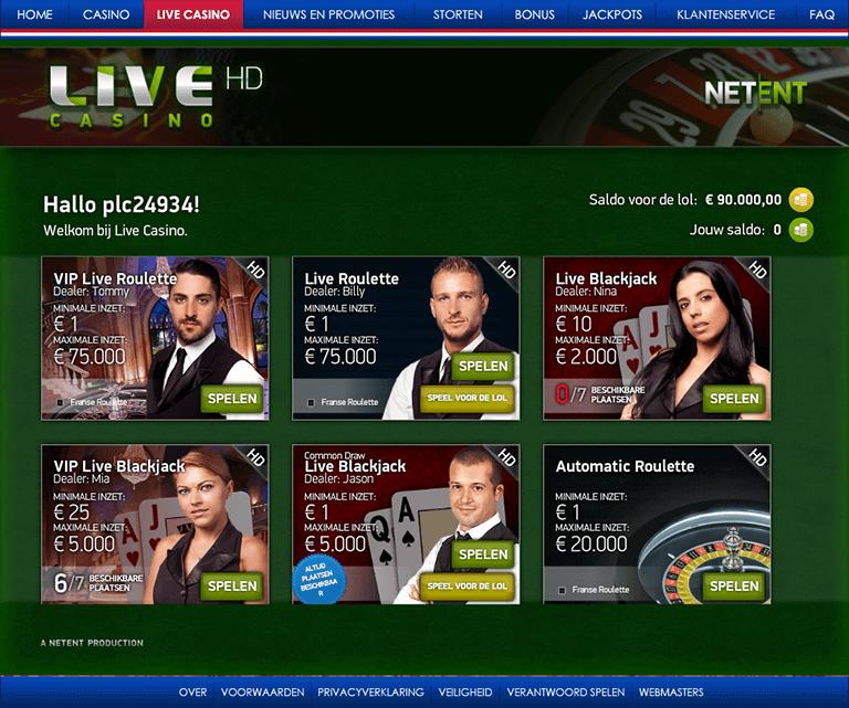 live casino in de polder