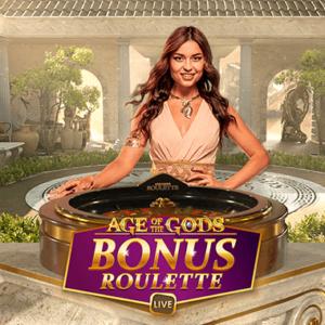 Age of Gods bonus Roulette logo